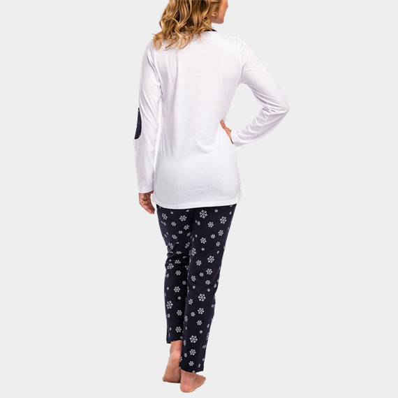 Hosszú ujjú női pizsama szett - Fehérnemű - J.PRESS 067c34d945